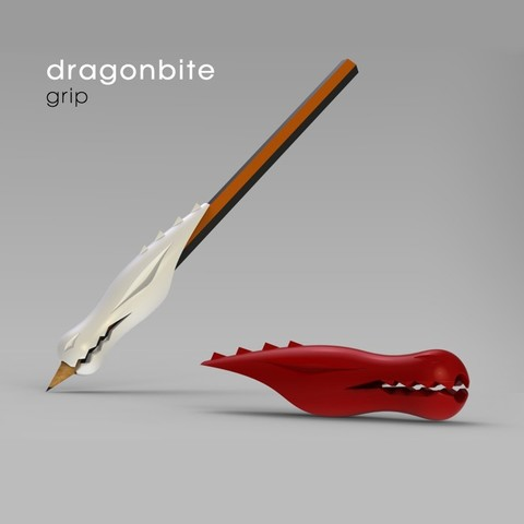 Download free STL file Dragonbite: grip • 3D printing design, Lab02