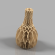 Free 3d printer designs Mirrored Twisted Vase, ImmersedN3D