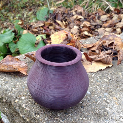Free 3d print files LIttle Friendly Pot - Petit vase chaleureux, Shapescribe