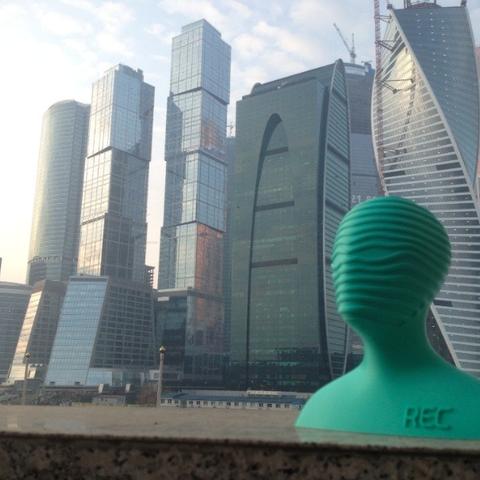 Download free STL file RECMAN  • 3D print template, REC