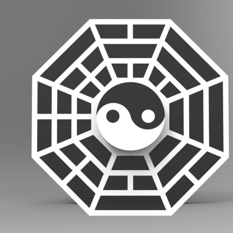 Télécharger fichier imprimante 3D Hand Spinner Yin Yang, Guich