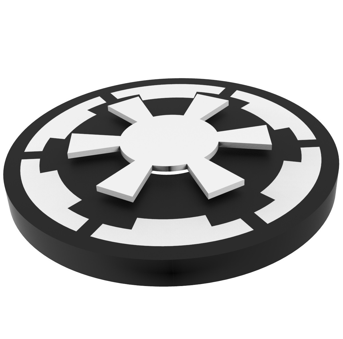 SW2.jpg Download STL file Hand Spinner Star Wars • 3D printable template, Guich