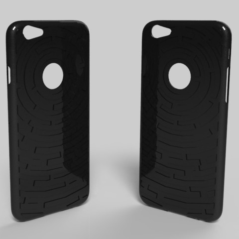 3d print files iphone 6 labyrinth shell, Guich