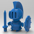 Download STL file chevalier • 3D printing design, Guich
