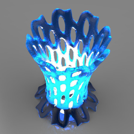 untitled.550.jpg Download STL file Lamp • Template to 3D print, Guich