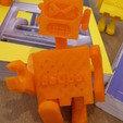 Download STL file robot énervé • 3D printable template, Guich