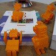 3d printer model robot qui tire la langue, Guich