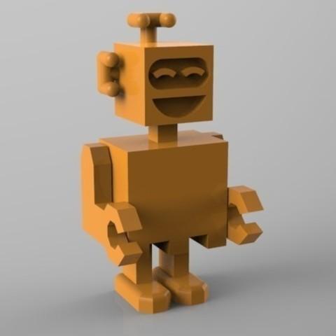 robot riant 3D printer file, Guich