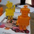 3d print files robot surpris, Guich