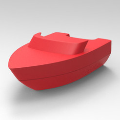 Download 3D printer model boat, Guich