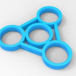 Imprimir en 3D mano Spinner, Guich