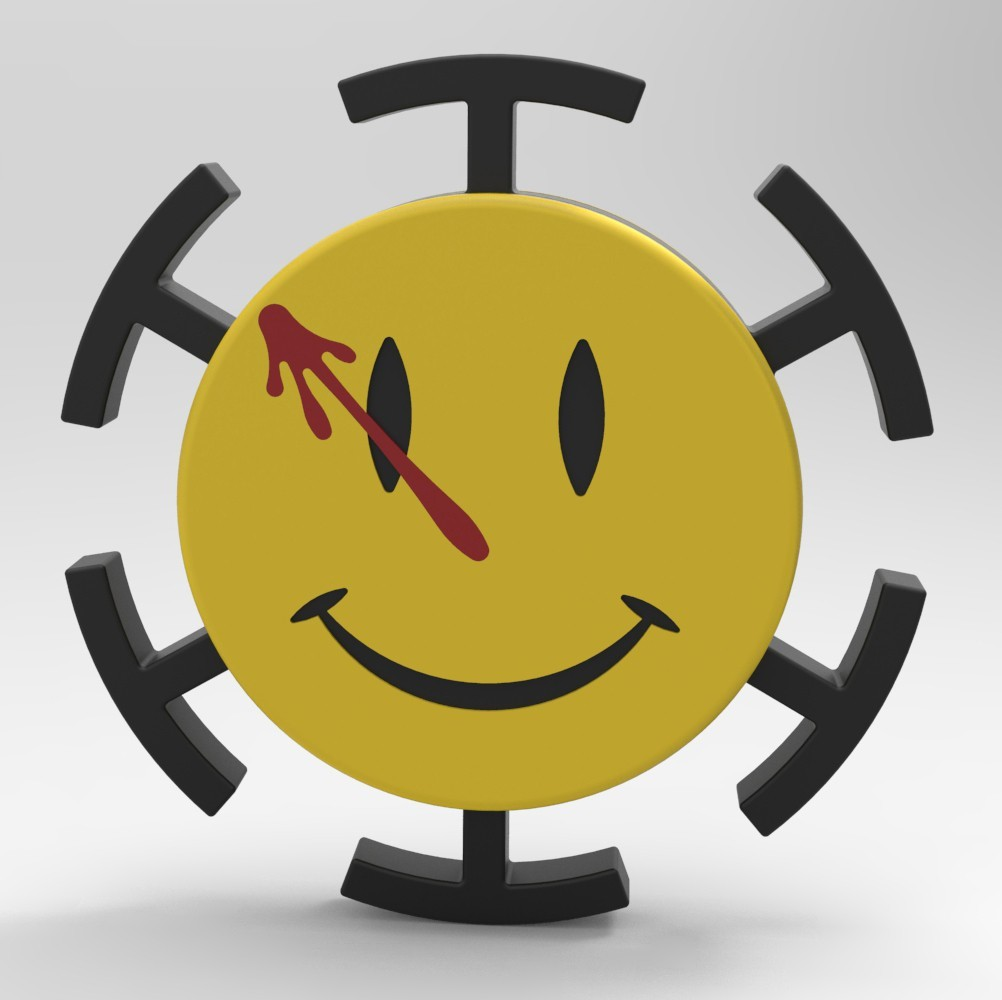 WM4.jpg Download STL file Hand Spinner Watchmen • 3D printer model, Guich