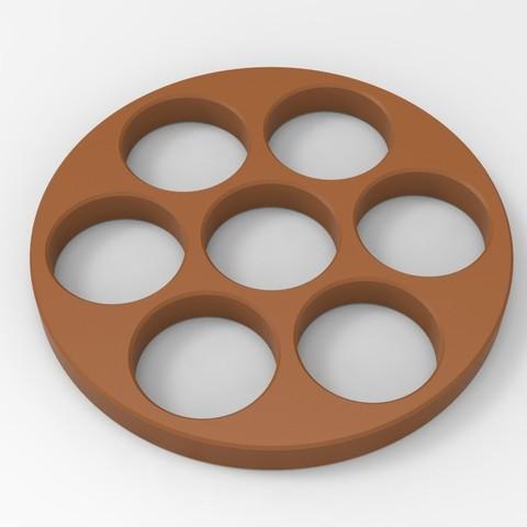 Download STL file Hand Spinner • 3D printer design, Guich