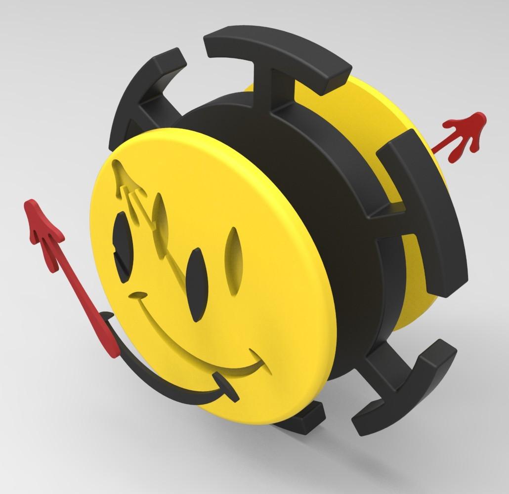 WM2.jpg Download STL file Hand Spinner Watchmen • 3D printer model, Guich