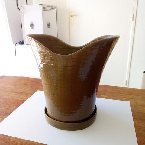 Fichier 3D Pot de fleur, Guich