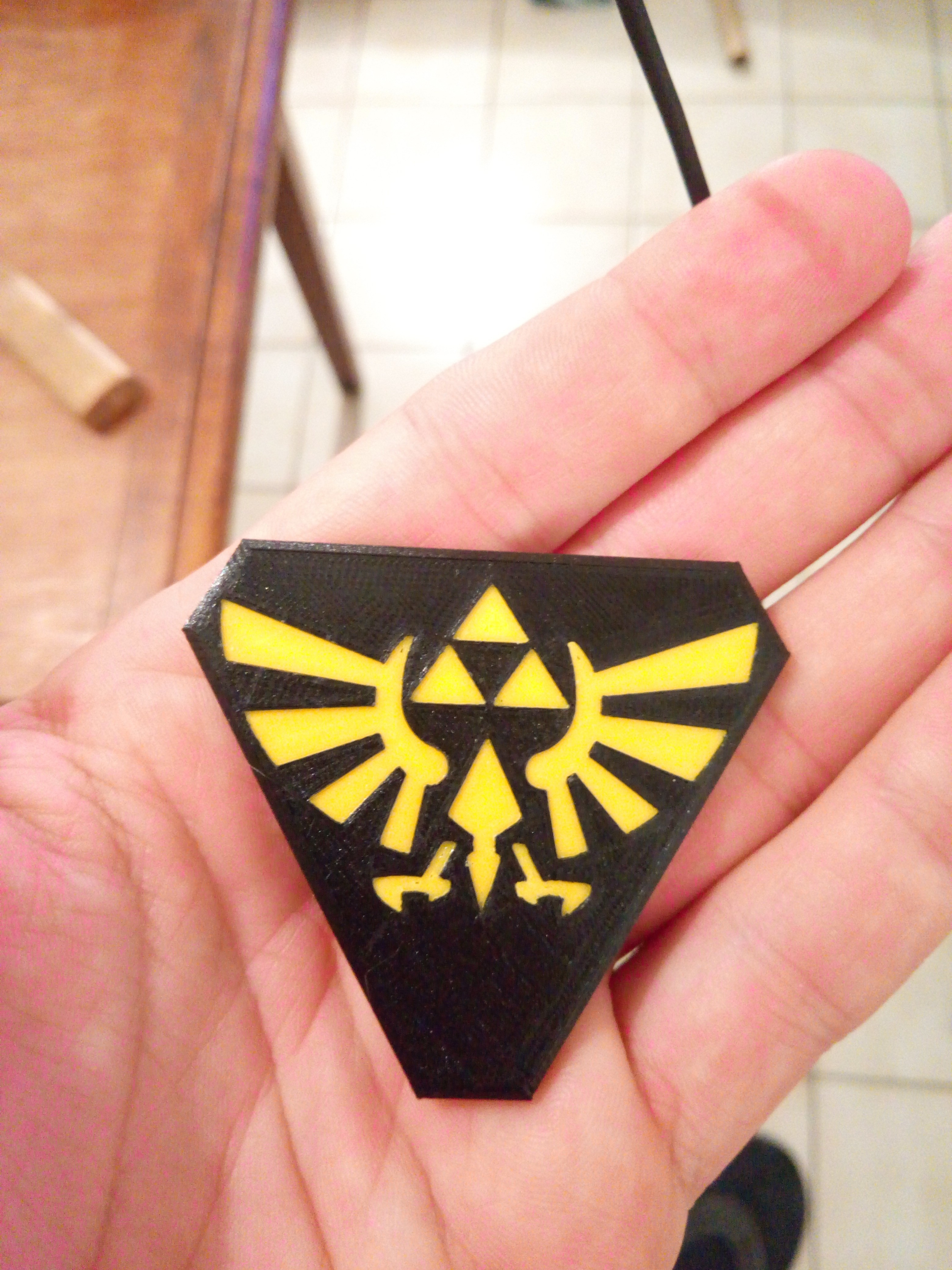 P_20170522_213453.jpg Download STL file Hand Spinner Zelda • Template to 3D print, Guich