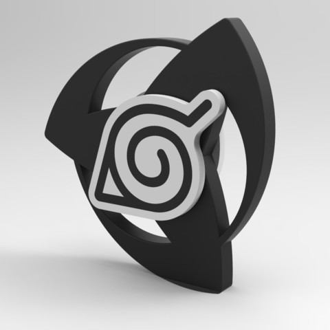 untitled.878.jpg Download STL file Hand Spinner Naruto • 3D printer template, Guich