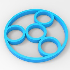Download 3D printing files Hand Spinner, Guich