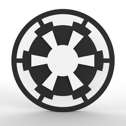 SW3.jpg Download STL file Hand Spinner Star Wars • 3D printable template, Guich