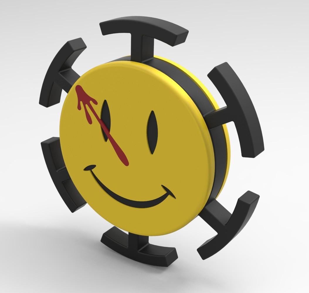 WM1.jpg Download STL file Hand Spinner Watchmen • 3D printer model, Guich