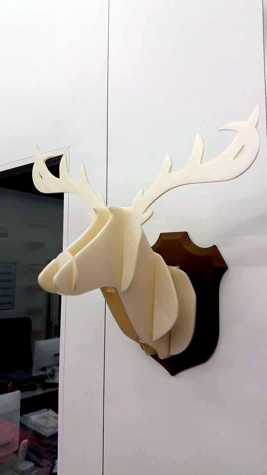28.Labels_3D_printing_Oldenburg_architecture_models_deer.jpg Download free STL file deer • 3D printer object, 28Labels