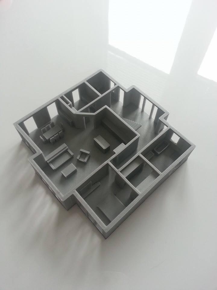 28.Labels_3D_printing_Oldenburg_architecture_models_Furnished_house.jpg Download free STL file furnished house • 3D printable design, 28Labels