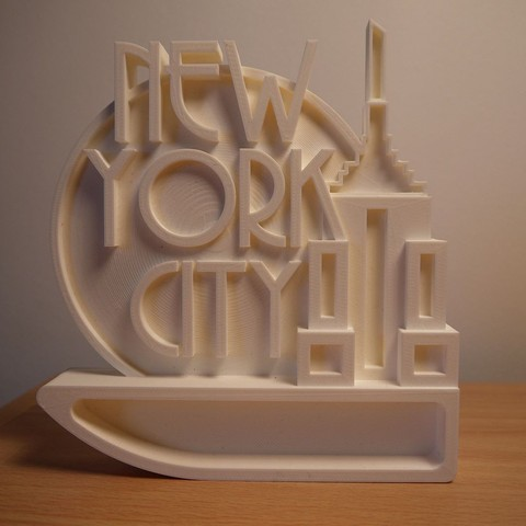 3D file Empire - 3D Printed Wall Art/Ornament (New York City/Empire State Building), ThePursuit