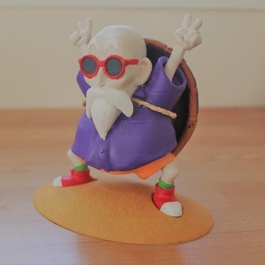 Descargar archivo 3D Bola de dragón Kamé sennin sennin genio de la tortuga sennin, MickaIDEEMAKER