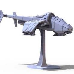 untitled.414_preview_featured.jpg Télécharger fichier STL gratuit Canonnière d'albatros à l'échelle 28mm • Objet imprimable en 3D, jdteixeira