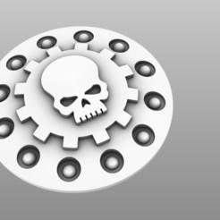 Descargar archivo 3D gratis Placa frontal de la montura de la pistola Dunacrawler, jdteixeira