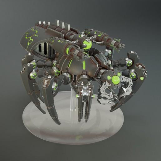 Télécharger objet 3D gratuit Modèle d'impression 3D du Space Arachnobot, jdteixeira