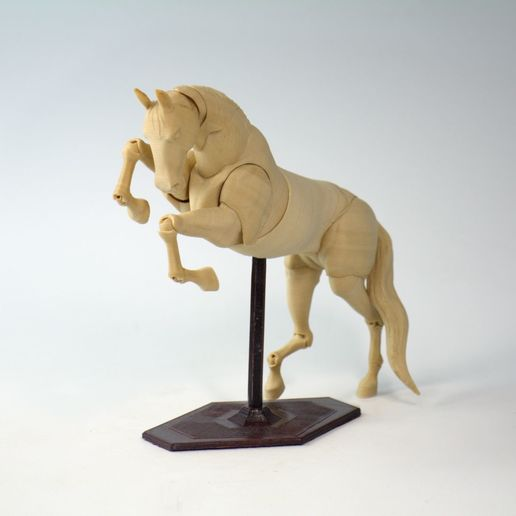 Download STL file Jointed Horse • 3D printing model, Shira