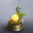 fichier stl gratuit Base pour verre Dome - Terrarium, Shira