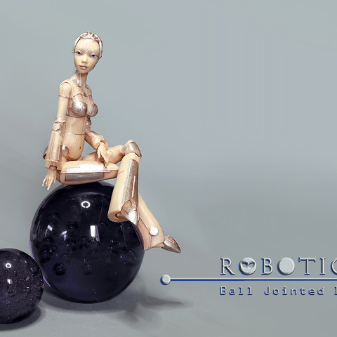 p05_a20141225_160408_BEST.jpg Download free STL file Robot woman - Robotica • Model to 3D print, Shira