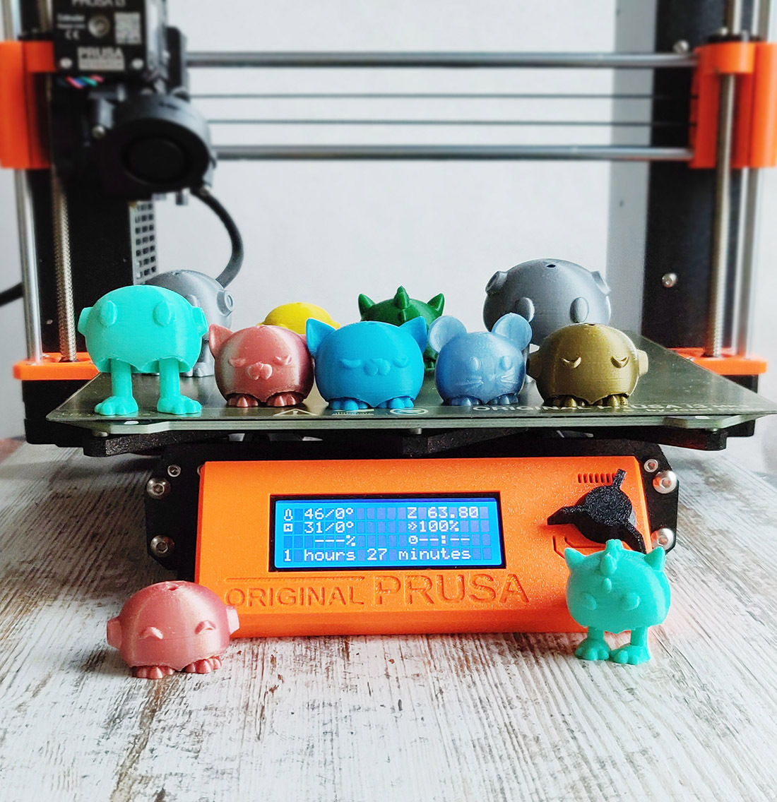 prusa ppMG_20201231_173623.jpg Download STL file Tiny Pets Bowling • 3D printable object, Shira