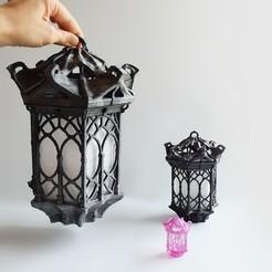 Archivos 3D gratis Linterna gótica, Shira