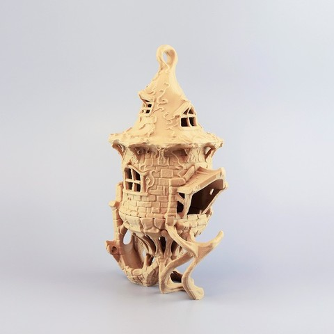p004.jpg Download STL file Birdhouse -3 pieces • 3D printer design, Shira
