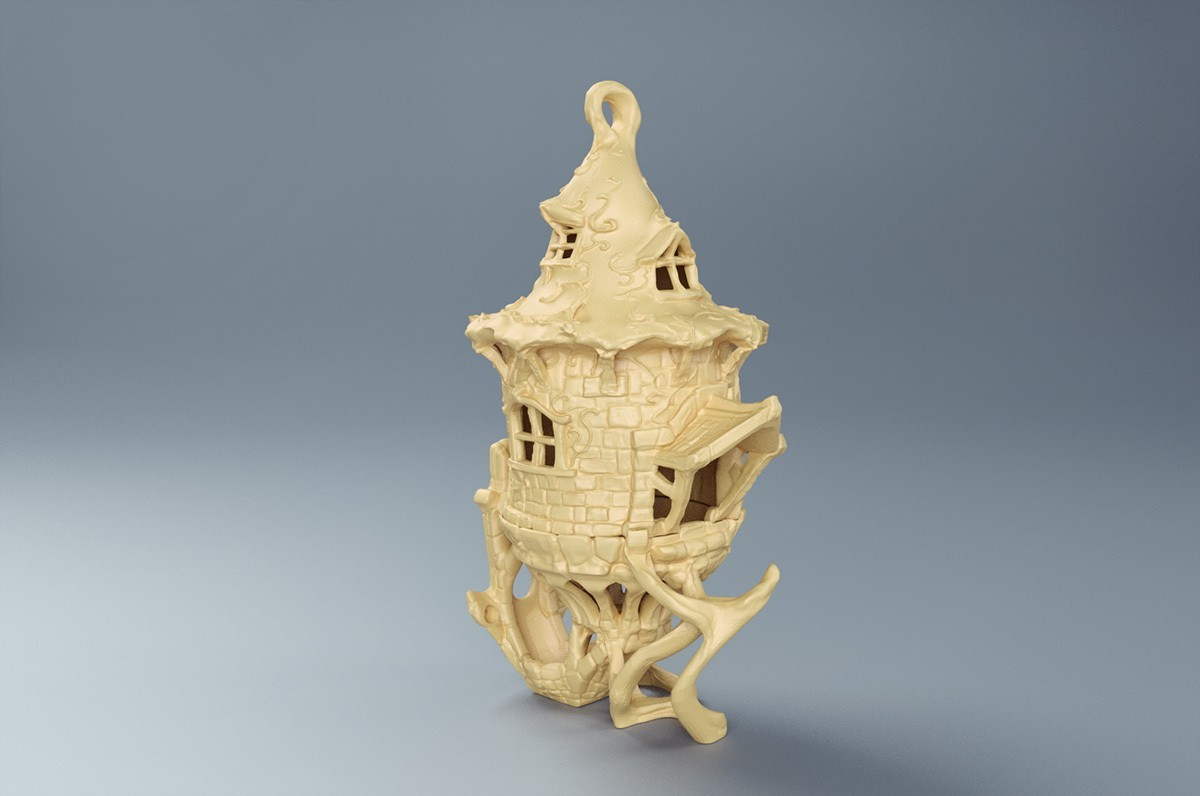 render 02 birdhouse_ sonia verdu.jpg Download STL file Birdhouse -3 pieces • 3D printer design, Shira