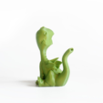 Free 3d printer model whistle birds - Baby Dragon, Shira