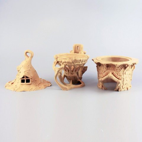 p0001 pp.jpg Descargar archivo STL Birdhouse -3 pieces • Objeto imprimible en 3D, Shira