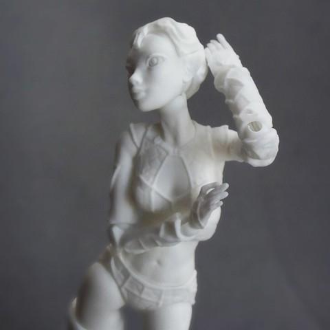 """01 lantea _sonia verdu.jpg Download STL file Jointed Doll """"Lantea"""" • 3D printer model, Shira"""