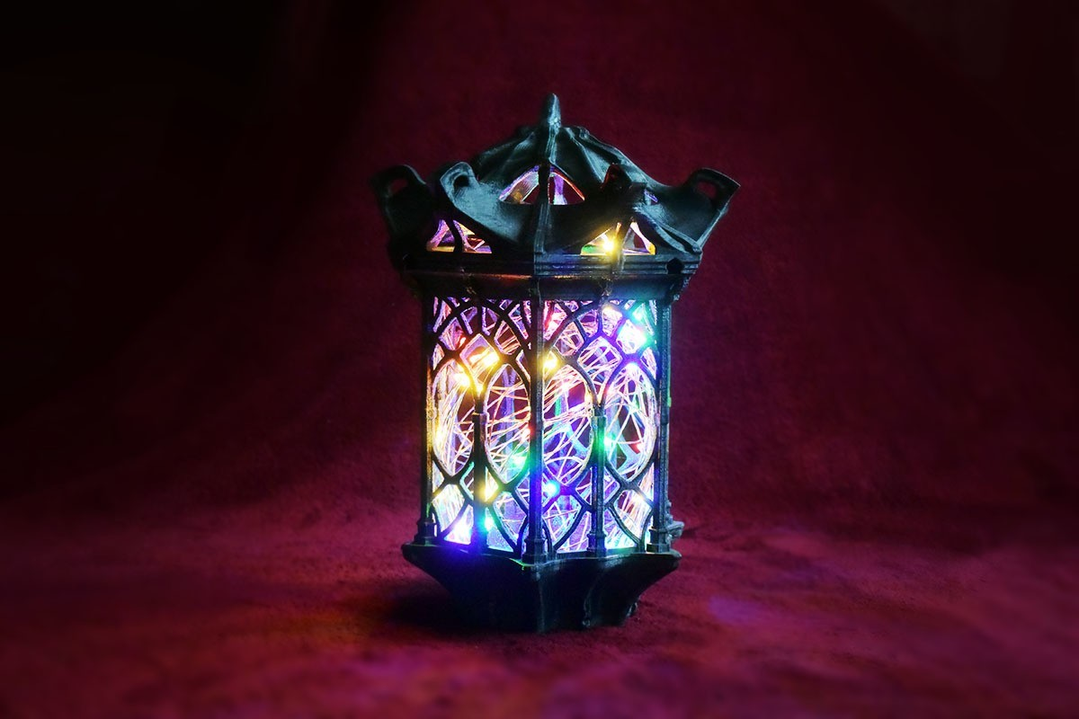 00DSC_7674p.jpg Download free STL file Gothic Lantern • 3D printing model, Shira