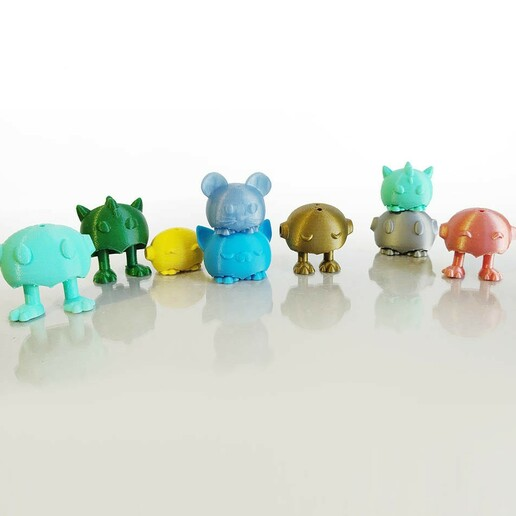 todos pp IMG_20201231_1748132.jpg Download STL file Tiny Pets Bowling • 3D printable object, Shira