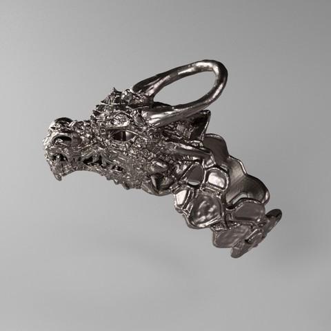 3D printing model Dragon Ring, Shira