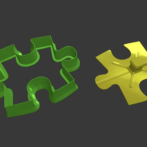 Download free 3D printing files Cookie cutter - Puzzle, Shira