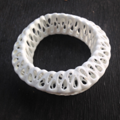 Free 3d printer model Bracelet No 3, Th3DCrafters