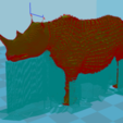 Free 3d printer files rhinoceros, chauvinxavier