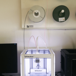 Free 3D file Ultimaker 3 Spool System, WKC-Project