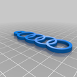 Download free STL file Audi Euro Einkaufschip (shopping cart token) • Model to 3D print, DREIDK