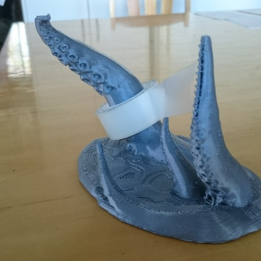 Télécharger objet 3D gratuit Coupe-bande tentaculaire à dents, JakG